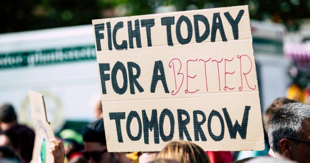 Combattiamo oggi per un domani migliore.